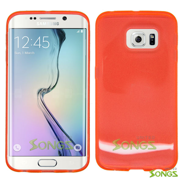 Samsung Galaxy S6 Edge TPU(Gel) Case Orange
