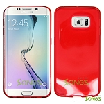 Samsung Galaxy S6 Edge TPU(Gel) Case Red