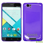 BLU Studio Energy TPU(Gel) Case Purple