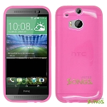HTC ONE M8 TPU(Gel) Case Pink