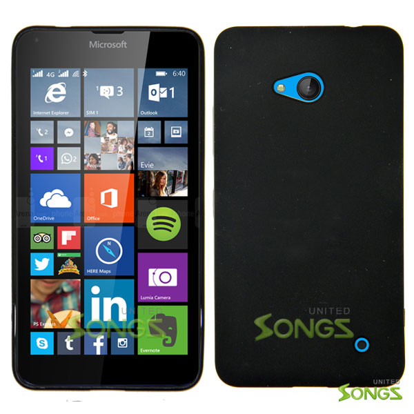 Nokia Lumia 640 TPU(Gel) Case Black