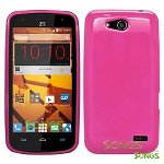 ZTE Speed N9130 TPU(Gel) Case Pink