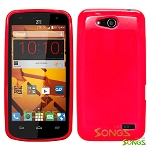 ZTE Speed N9130 TPU (Gel) Case Red