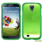 Samsung Galaxy S4 IV i9500 Metal Back Case Green