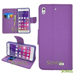 BLU Vivo Air D980L Wallet Case Purple