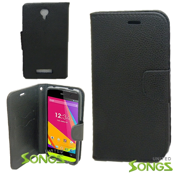 BLU Life8 /L280 Wallet Case Black