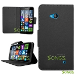 Nokia Lumia 640 Wallet Case Black