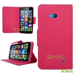 Nokia Lumia 640 Wallet Case Pink