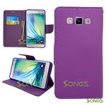 Samsung Galaxy E7 Wallet Purple