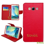 Samsung Galaxy E7 Wallet Red