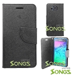 Samsung Galaxy Alpha G850 Wallet Case Black