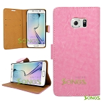 Samsung Galaxy S6 Wallet Case Light Pink