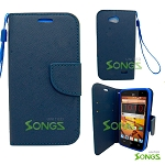 ZTE Speed N9130 Wallet Case Blue