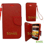ZTE Speed N9130 Wallet Case Red
