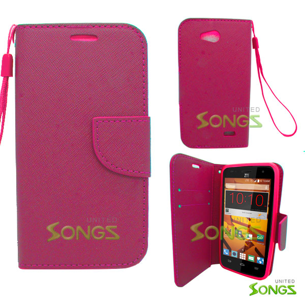 ZTE Speed N9130 Wallet Case Pink