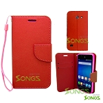 Hua Wei Tribute Y536A1 Wallet Case Red