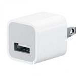 USB Travel/Home Charger Adapter White