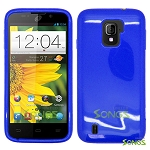 ZTE Majesty Z796C TPU(Gel) Case Blue