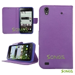 ZTE Quartz Z797C Wallet Case Purple