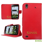 ZTE Quartz Z797C Wallet Case Red