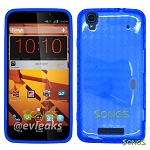 ZTE Boost Max N9520  TPU(Gel) Case Blue