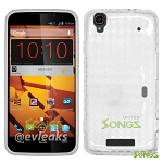 ZTE Boost Max N9520  TPU(Gel) Case Clear