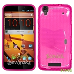 ZTE Boost Max N9520  TPU(Gel) Case Pink
