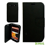 ZTE  Warp Sync/N9515 Wallet Case Black