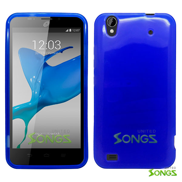 ZTE Quartz Z797C TPU(Gel) Case Blue