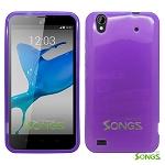 ZTE Quartz Z797C TPU(Gel) Case Purple