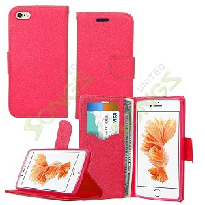 iPhone 6S/6 Wallet Case Red