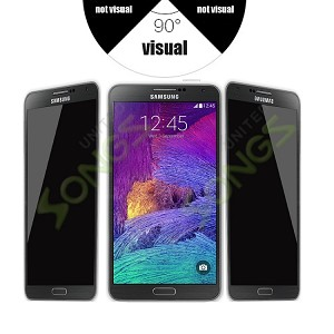 Samsung Note 4 Premium Tempered Glass Screen Protector (Privacy)