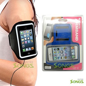 iPhone 5S 5C Water Proof Armband Blue