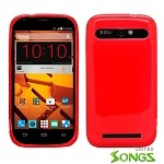 ZTE Warp Sync N9515 Grand S Pro N9835 TPU(Gel) Case Red