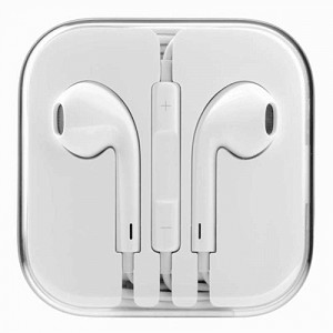 iPhone 6/SE/5/4 Series Earphone with MIC and Volume Control White
