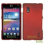 LG Optimus G E970 Hard Regular Case Red