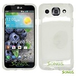 LG Optimus G Pro E980 (AT&T) Hard Regular Case Clear