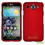 LG Optimus G Pro E980 (AT&T) Hard Regular Case Red
