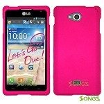 LG Spirit MS870 Hard Normal Case Pink