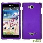 LG Spirit MS870 Hard Normal Case Purple