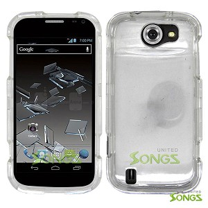 ZTE Flash N9500 Hard Regular Case Clear