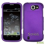 ZTE Flash N9500 Hard Regular Case Purple