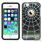 iPhone 5 5S SpiderMan Metal Design Case Black/Black