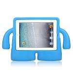 iPad 2/3/4 New Protective Case With Handle & Stand Blue