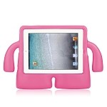 iPad 2/3/4 New Protective Case With Handle & Stand Pink
