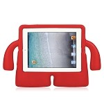 iPad 2/3/4 New Protective Case With Handle & Stand Red