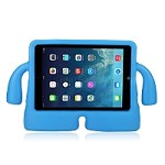 New IPad 2017/Pro 9.7/Air/Air 2 New Protective Case With Handle & Stand Blue