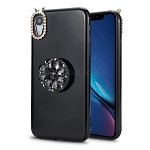 iPhone XR  New Pop Holder Stylish Case Black