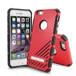 iPhone 6S Plus/6 Plus New Hybrid Case With Kickstand Red