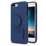 iPhone 7P/8P New Pop Holder Impact Protective Case Dark Blue/Black